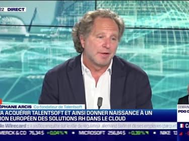 Jean-Stéphane Arcis (Talentsoft) : Cegid va acquérir Talentsoft et ainsi donner naissance à un champion européen des solutions RH dans le cloud - 12/04