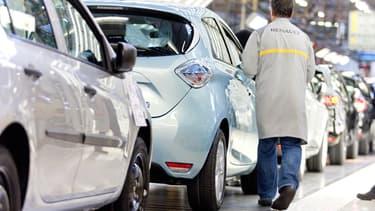 Renault a vu ses ventes mondiales progresser grâce à l'Europe en 2015.