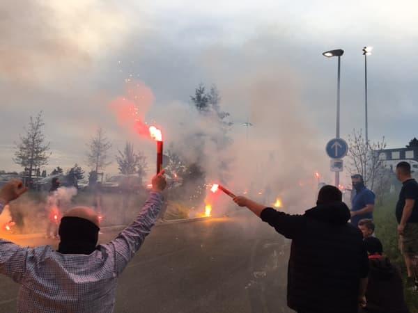 L'accueil bouillant réservé aux Lyonnais