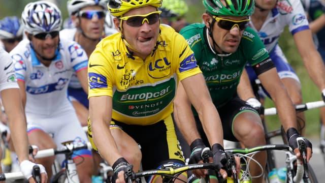 Pour sa quatrième journée en jaune, Voeckler a parfaitement contrôlé ce vendredi à Lourdes