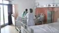 Des soignants mobilisés à l'hôpital de Fort-de-France en Martinique