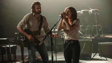 """Lady Gaga et Bradley Cooper, dans le remake de """"A Star is Born"""""""