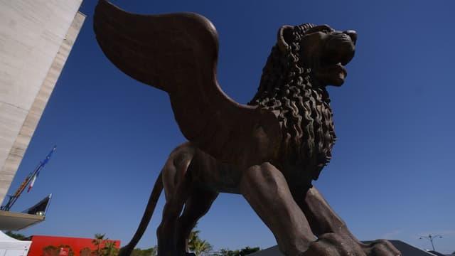 Le Lion de saint-Marc, symbole du prix de la Mostra de Venise