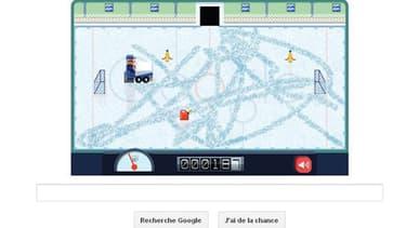 Image du nouveau Doodle de Google, mis en ligne ce mercredi 16 janvier.