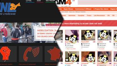 Pendant trois heures, la page d'accueil du site de la Fidl renvoyait vers un site pornographique (par égard pour la chasteté de nos lecteurs, certaines zones de cette image ont été masquées par la rédaction)
