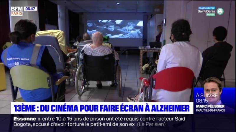 Paris: du cinéma pour raviver les souvenirs de patients souffrant d'Alzheimer