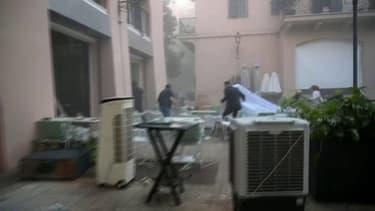 Une mariée était en pleine séance photo au moment des explosions à Beyrouth ce mardi