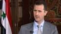 Le président syrien Bachar al-Assad à Damas, en novembre dernier.