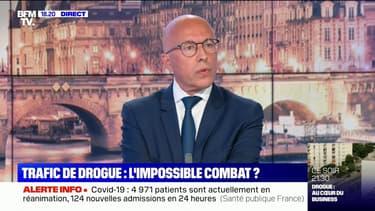 """Éric Ciotti: """"La sécurité, ce n'est pas la priorité d'Emmanuel Macron, ça ne l'intéresse pas"""""""