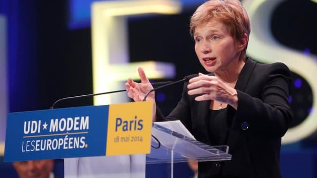 """Laurence Parisot a confirmé avoir un """"projet"""" pour EDF."""