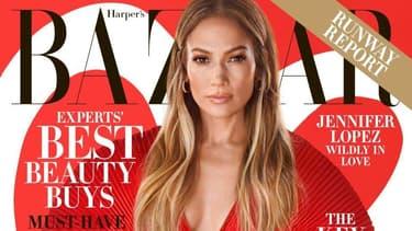 Jennifer Lopez pour Harper's Bazaar