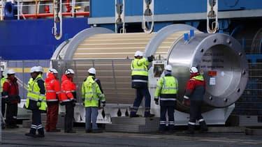 7 tonnes de déchets radioactifs dans un train pour la Suisse.