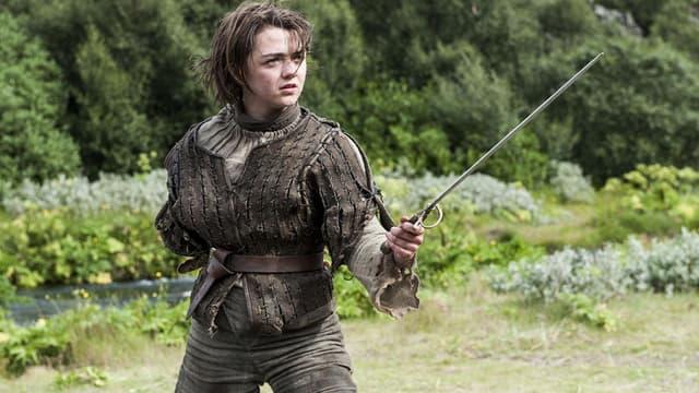 """Arya dans """"Game Of Thrones"""""""