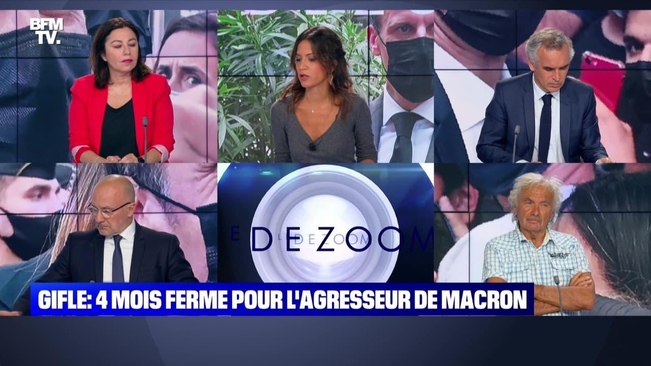 Gifleur: 4 mois ferme pour l'agresseur de Macron (2)