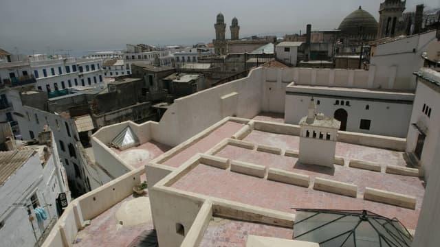 Le quartier de la Casbah à Alger