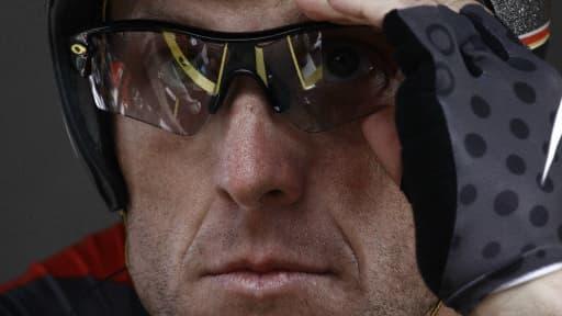 Le cycliste américaine Lance Armstrong.