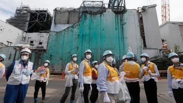 La centrale de Fukushima fait désormais l'objet de visite de groupes scolaires ou à des résidents.