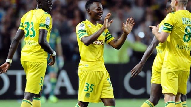 Abdoulaye Touré (n°33) et les Nantes pourraient perdre sur tapis verts les trois points gagnés face à Bastia