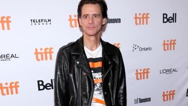 Jim Carrey  à Toronto en septembre 2017