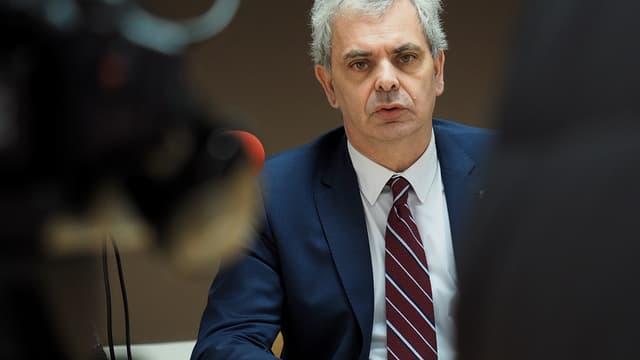 Christophe Bouchet, ancien président de l'OM