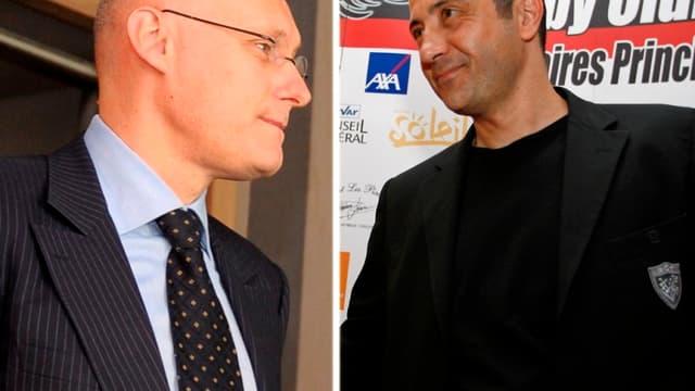 Bernard Laporte et Mourad Boudjellal