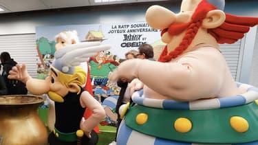 Astérix et Obélix au Festival LyonBD en 2019