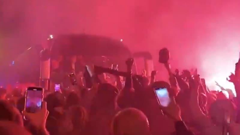 Lens-Lille: l'énorme ambiance pour le retour des Lillois après le derby