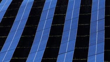Basée aux États-Unis, la filiale de Total dédiée à l'énergie solaire se porte mal en raison de l'importante chute des prix des panneaux solaires. (image d'illustration)