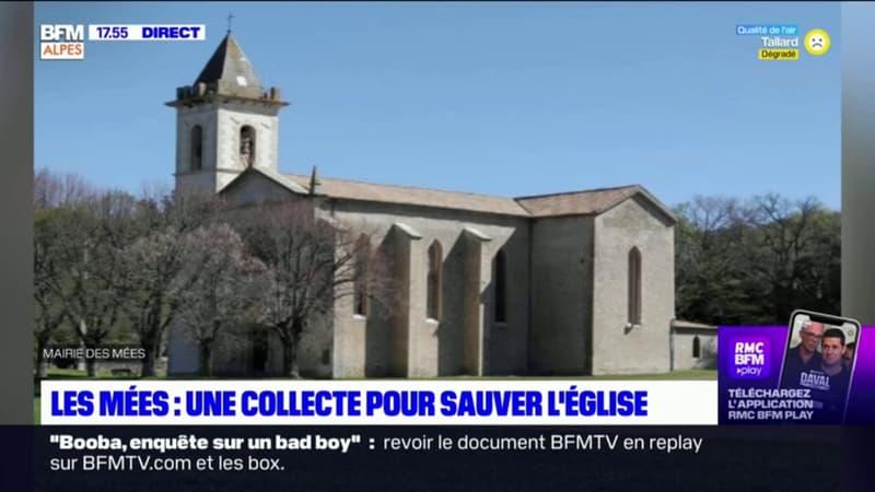 Les Mées: une collecte publique pour sauver l'église Saint-Blaise