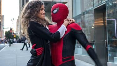 Tom Holland et Zendaya dans Spider-Man: Far From Home