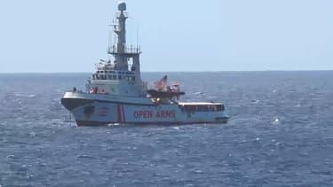 Le bateau de l'Open Arms.
