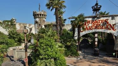 L'attraction Pirates of the Caribbean à Disneyland Paris