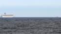 Une image du Triumph, le paquebot en difficulté, prise par les garde-côtes américains.