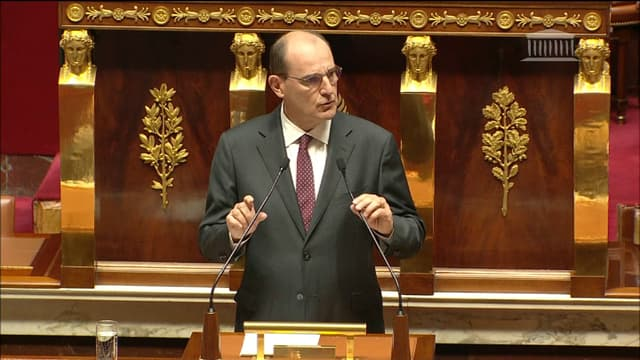 Jean Castex lors de son discours de politique générale, le 15 juillet.