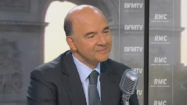 """Pierre Moscovici a assuré que la France """"rebondit doucement""""."""