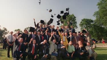 Les diplômés en mastère de gestion d'HEC