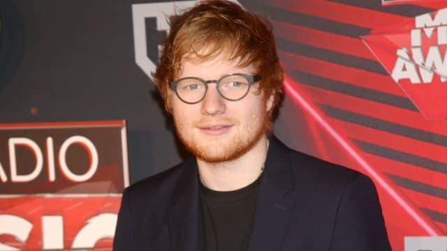 Ed Sheeran à Inglewood, le 5 mars 2017