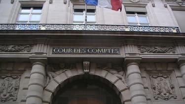 La Cour des comptes, à Paris