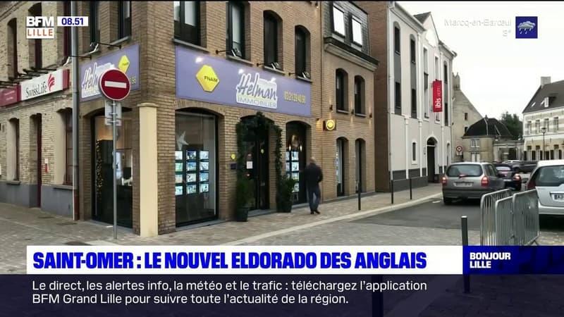 Saint-Omer: le nouvel eldorado des Anglais