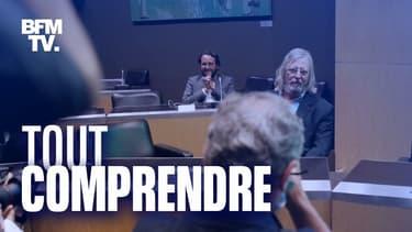 Didier Raoult devant la Commission d'enquête de l'Assemblée nationale sur la gestion de la crise du Covid-19, le 24 juin 2020.