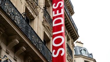 Les soldes le 8 janvier 2020 à Paris