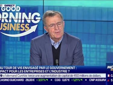 Philippe Darmayan (UIMM) : Reconfinement, quel impact pour les entreprises et l'industrie ? - 28/01