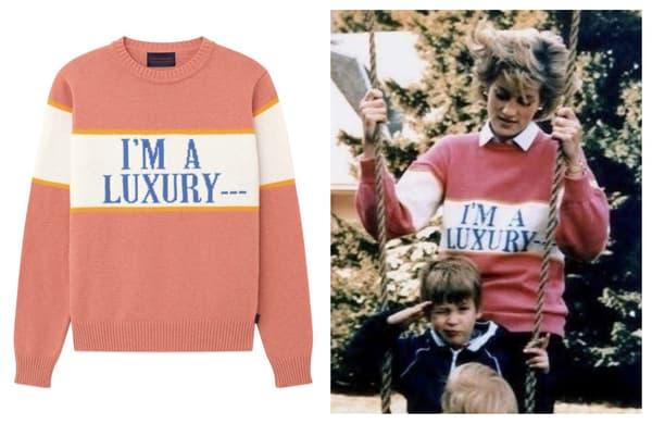 """Le pull """"I am luxury"""""""