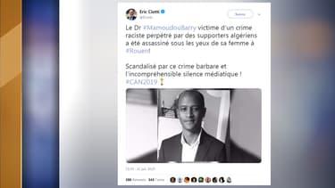 De nombreux politiques ont réagi ce dimanche à la mort de Mamoudou Barry