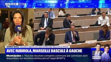 """""""Je lui ai permis de gagner Marseille"""": Samia Ghali réagit à l'élection de Michèle Rubirola"""