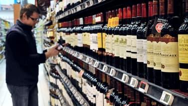 La consommation d'alcool a chuté de près de 2 litres par ménage l'an dernier