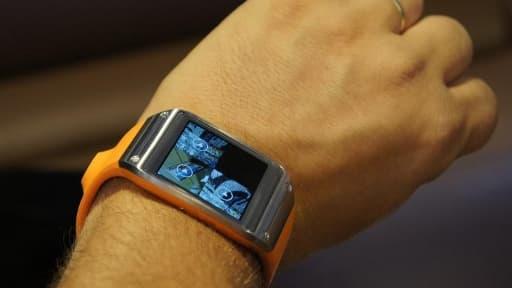 La montre Samsung Galaxy Gear.