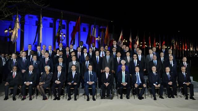 Les grands argentiers du monde on été réunis vendredi et samedi.
