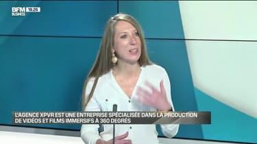 Catherine Cieslak (XPVR): L'agence XPVR est une entreprise spécialisée dans la production de vidéos et films immersifs à 360 degrés - 08/05