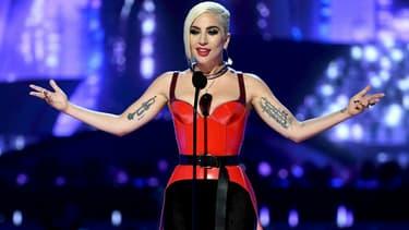Lady Gaga lors des MTV Movie And TV Awards